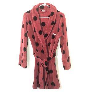 Victoria's Secret PINK Polka Dot Robe